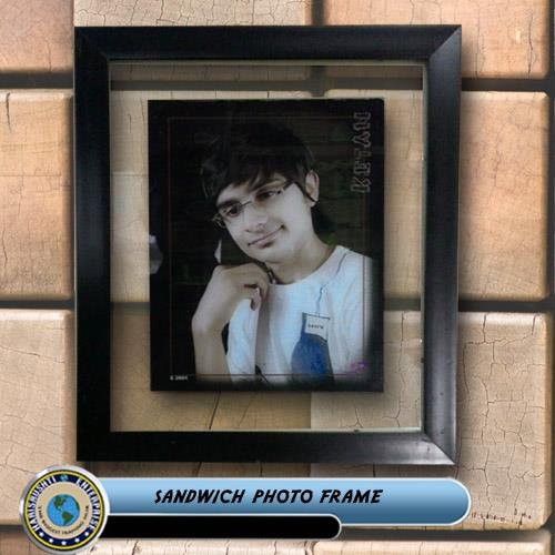 sandvich photo frame